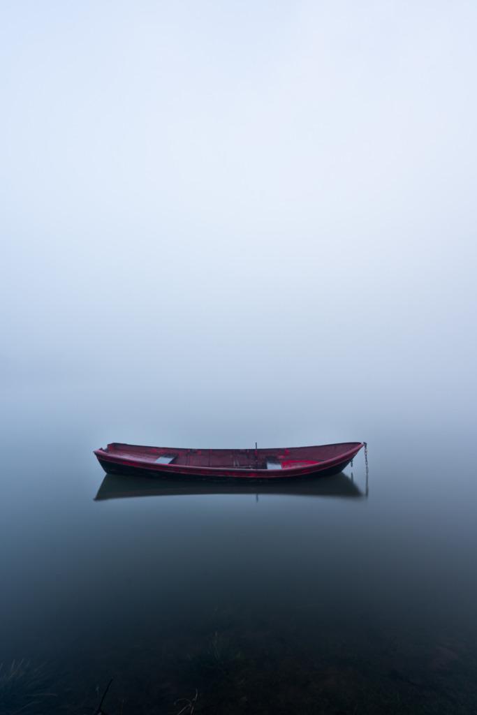Het kleine rode bootje